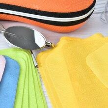 5pcs/lot Cleaner Clean Glasses Lens Cloth Wipes For Sunglasses Microfiber Eyegla