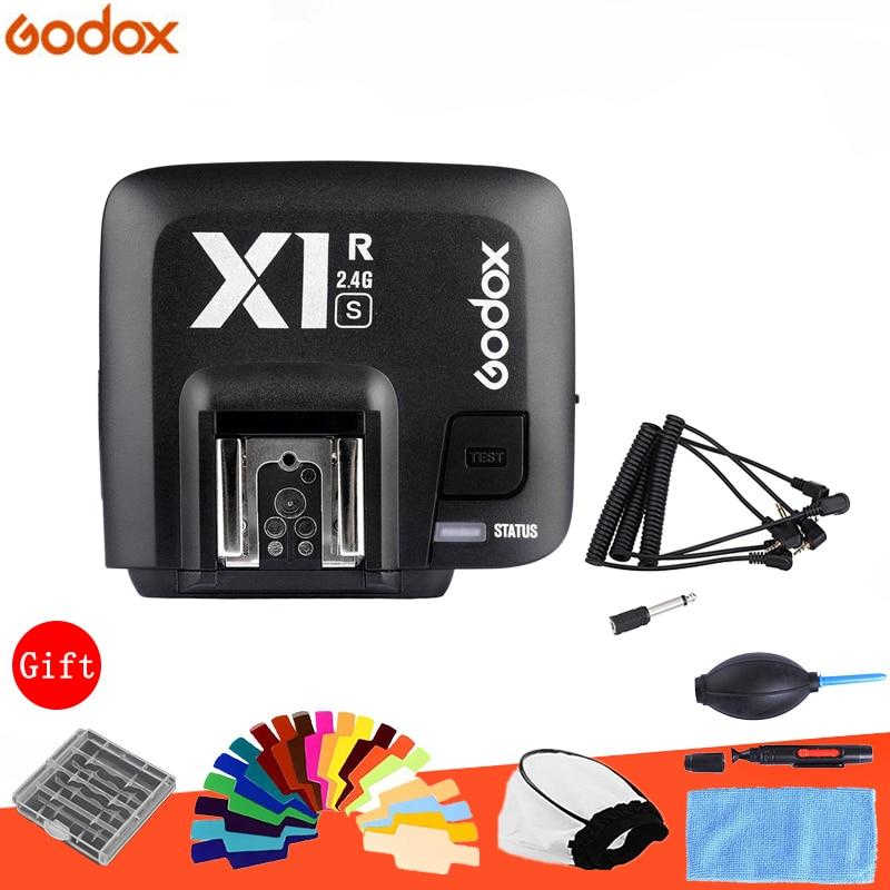 Godox X1R-C/X1R-N/TTL 2.4G Wirelss Receptor Flash para X1T-C X1R-S/N/S Xpro- c/N/S Gatilho Canon/Nikon/Sony Dslr Speedlite