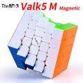 Новый Qiyi mofangge Valk5 M 5x5x5 Магнитный Невидимый волшебный куб скоростной куб VALK 5 м 5x5 Черный Valk5M куб Cubos Magico