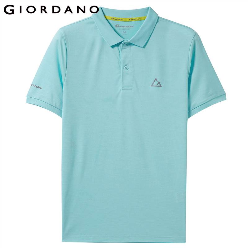 Giordano Men   Polo   Shirt G-Motion Series Short Sleeve   Polo   Shirt For Men Thin Colorful Summer Tops Camisa   Polo   Masculina