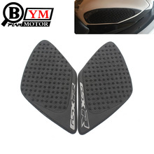 For Suzuki GSXR1000 GSX-R 1000 2007 2008 Motorcycle Anti slip Tank Pad 3M Side Gas Knee Grip Traction Pads Protector Stickers