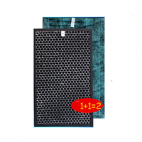 37.5*23.5cm for Sharp Air Purifier KC WB2 BD20 WE21 B40 A40E Heap Filter Activated Carbon Filter PM2.5 Air Cleaner