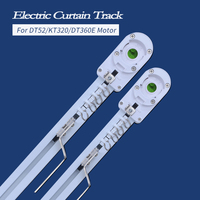 High Quality Customizable Super Quite Electric Curtain Track For Remote Control Electrical Curtain Motor