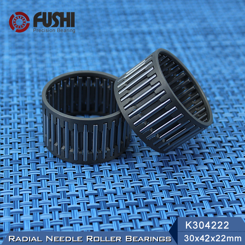K304222 Bearing size 30*42*22 mm ( 1 Pc ) Radial Needle Roller and Cage Assemblies K304222 Bearings K30x42x22 bk3038 needle bearings 30 37 38 mm 1 pc drawn cup needle roller bearing bk303738 caged closed one end