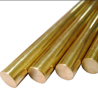 Dia12mm Length 500mm H62 Brass Round Bar Copper Round Rod Differents Sizes In Stock