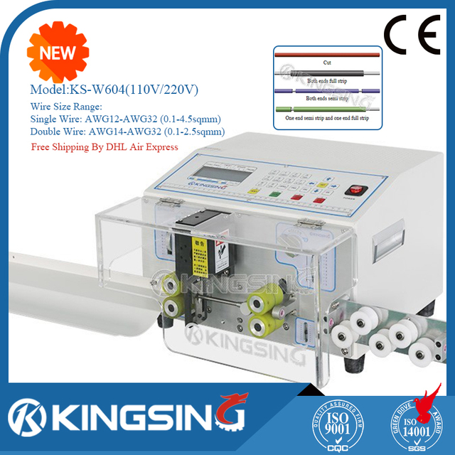 KINGSING Brand New Factory Outlet Automatic Wire Cutting Stripping ...