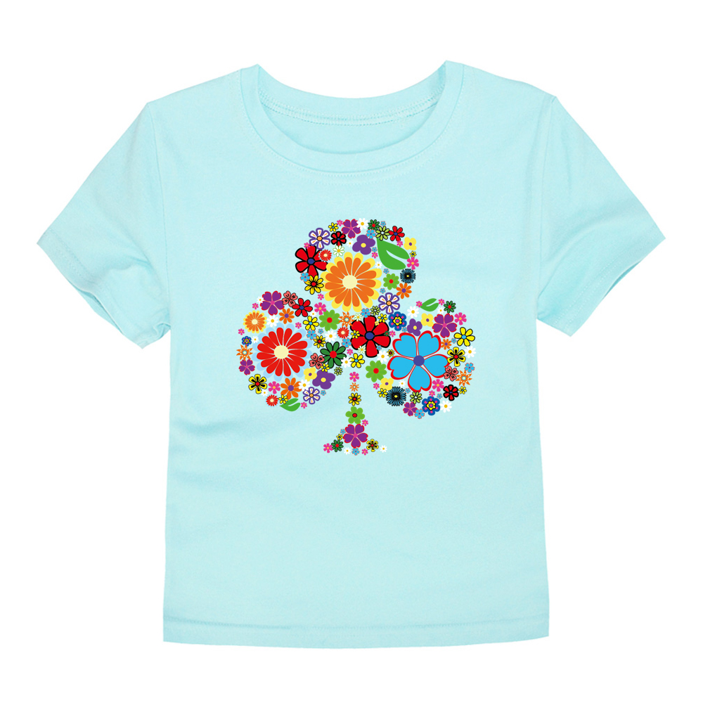 HTB1QOn8RFXXXXX5XFXXq6xXFXXXt - TINOLULING 2018 Summer Kids Flower Tree T-Shirt Boys Girls Tree T Shirt Children Tops Baby Tees For 2-14 Years