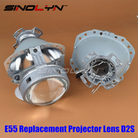 Gen2 E55 3 0 Bi Xenon HID D2S Projector Lens Replacement For Audi A6 C5 A6L
