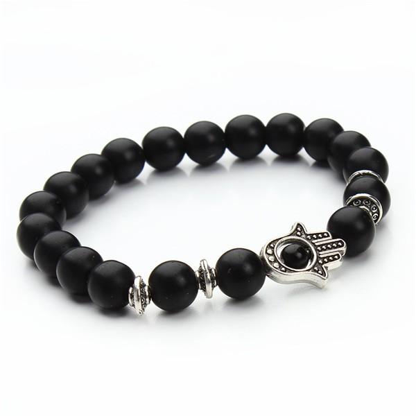 1-pcs-Nature-8mm-Black-Lava-Energy-Stone-Beads-Bracelet-Gold-Hamsa-Hand-Charm-Bracelet-Yoga (7)