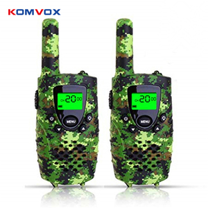 Image 1 - Portable Mini Kids Walkie Talkie PMR446MHZ 8/22CH Two way Radio LCD Display Fashlight with USB Charing jack for Children Gifts