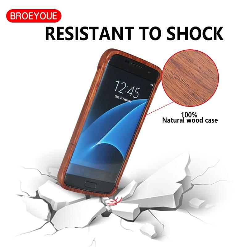 BROEYOUE Case for Samsung Galaxy S8 S9 S5 S7 S6 Edge Plus Նշում - Բջջային հեռախոսի պարագաներ և պահեստամասեր - Լուսանկար 4