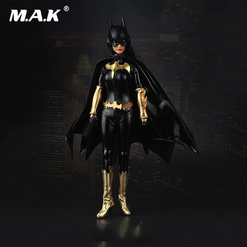 1/6 Scale Female BATGIRL Suit Set Clothes Mask Set For 12 inches Female Action Figure 1 6 scale male clothes suit leather jacket men s jacket suit model for 12 action figure body accessories