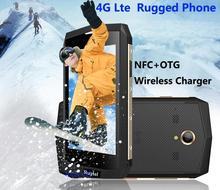"""Ip68 robusten android wasserdichte handy 4g fdd lte 2 gb ram freigesetzter rugtel x16 mtk6573 quad core 4,5 """"1280×720 gps nfc"""