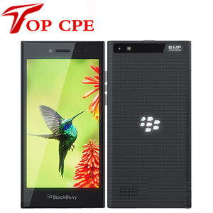 Unlocked Original BlackBerry Leap 5.0' Bar Cellphone 2GB RAM 16GB ROM 8.0MP camera Dual Core Black color Mobile Cell Phone