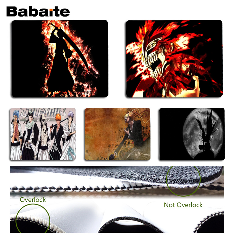Babaite My Favorite Bleach Beautiful Anime Mouse Mat Size for 18x22cm 25x29cm Rubber Mou ...