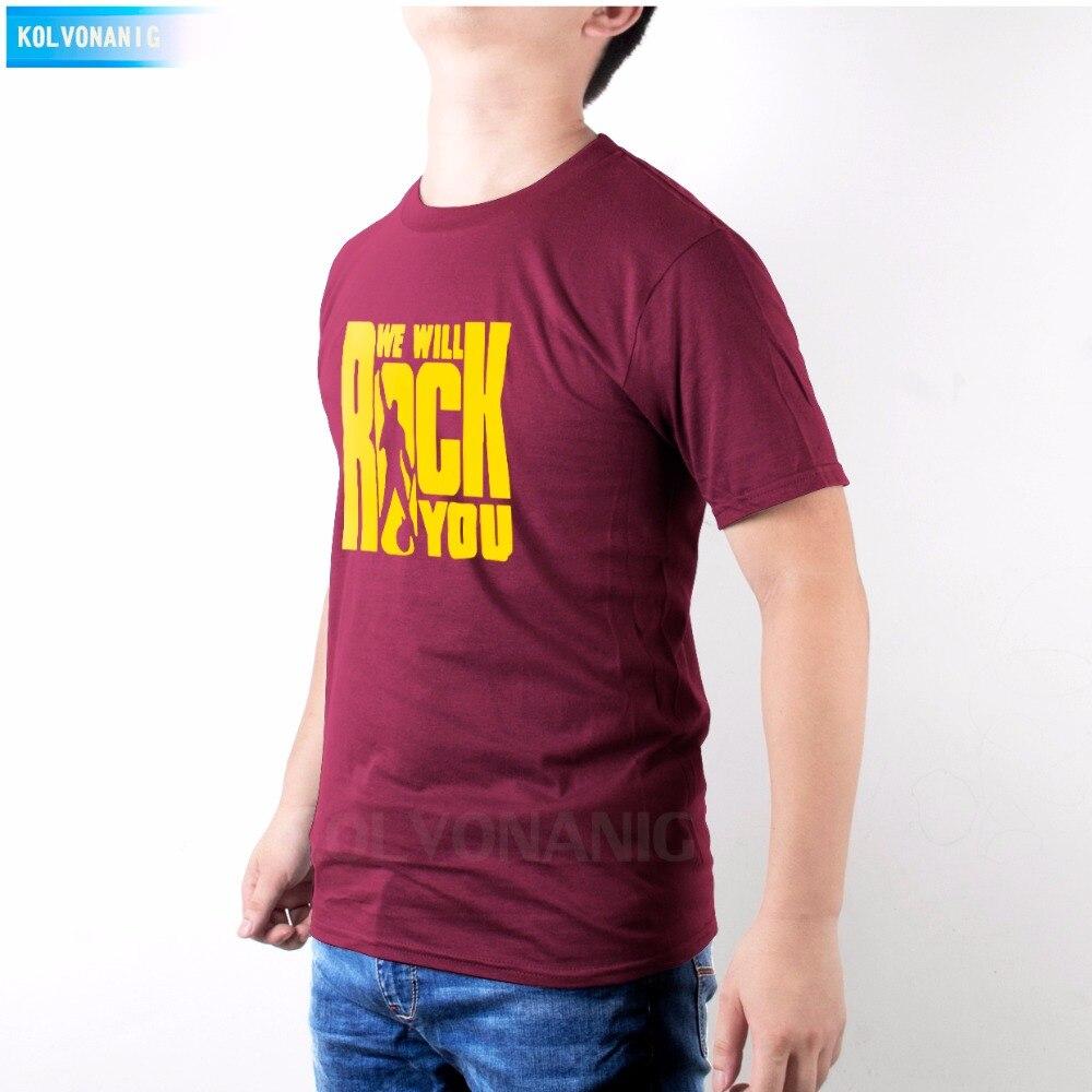 Tees Shirts Rock Printed