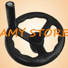 Черный фрезерный станок токарный 100 мм диаметр спиральный маховик