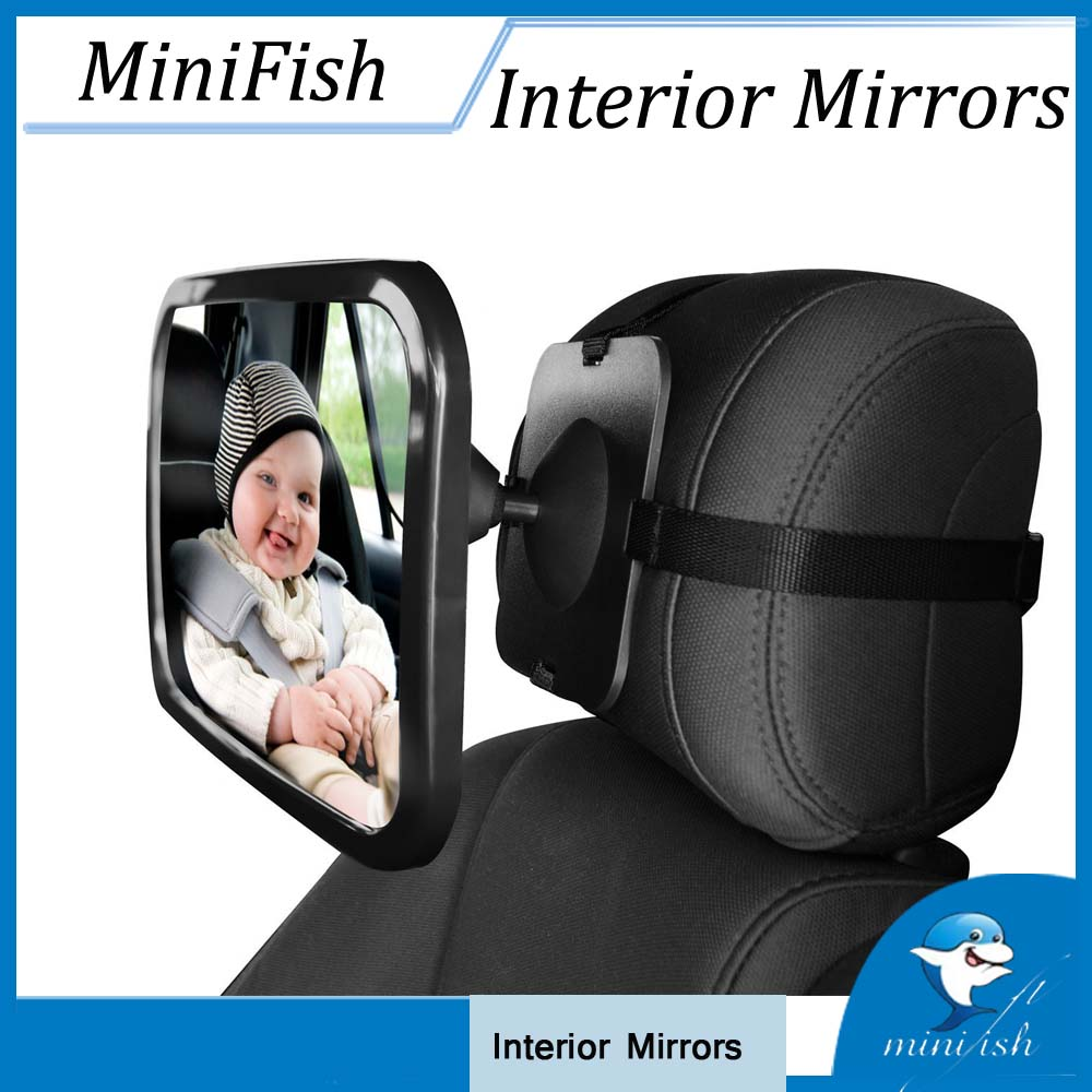 Adjustable Car Safety Wide View Back Seat Mirror Baby Rearview Infants Spiegel Rear Ward View Auto Baby Interior Mirrors