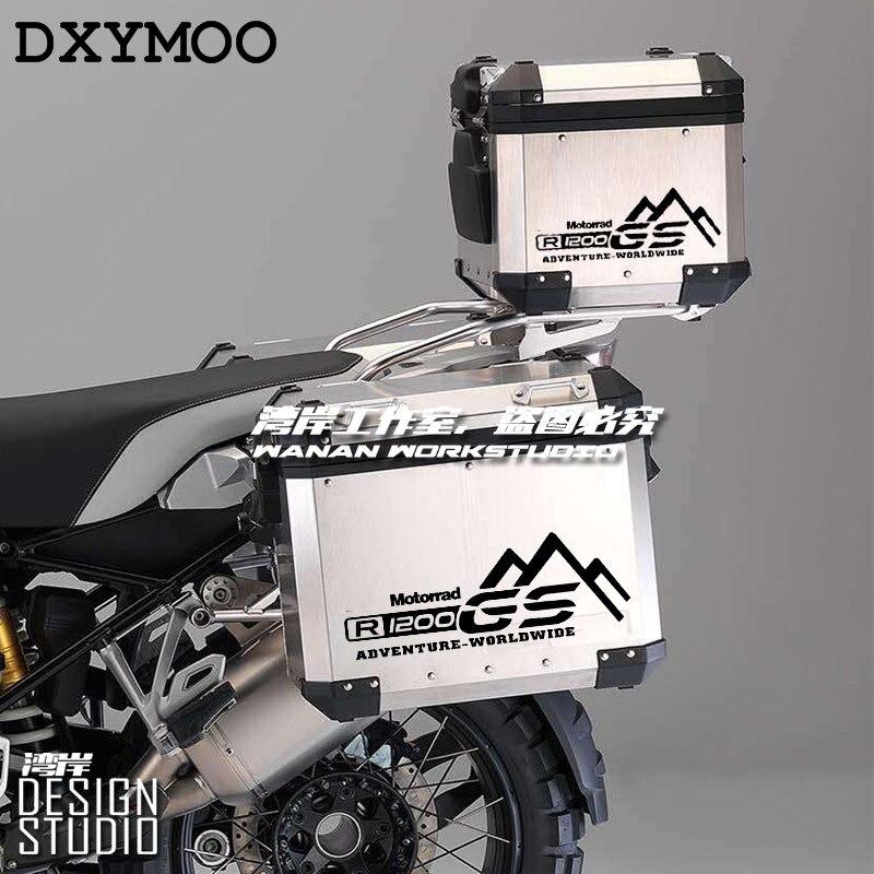 35 cm 1 para Motorrad Seite Box GS Abenteuer Weltweit Aufkleber Auto Styling für Motorrad R1200GS F800 700GS ADV