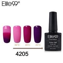 Elite99 10ml Thermal Nail Gel Polish 3 color temperature cha