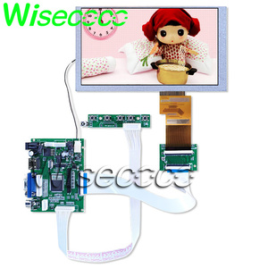 HSD062IDW1 A00 A01 A02 lcd display screen panel Touch screen with TTL LVDS Controller Board HDMI VGA 2AV 50 PIN Driver Board