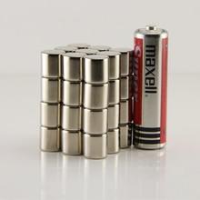 Бесплатная Доставка 10 шт. цилиндр 10×10 мм N50 редкоземельных постоянных Промышленных мощный неодимовый магнит магнитов ndfeb