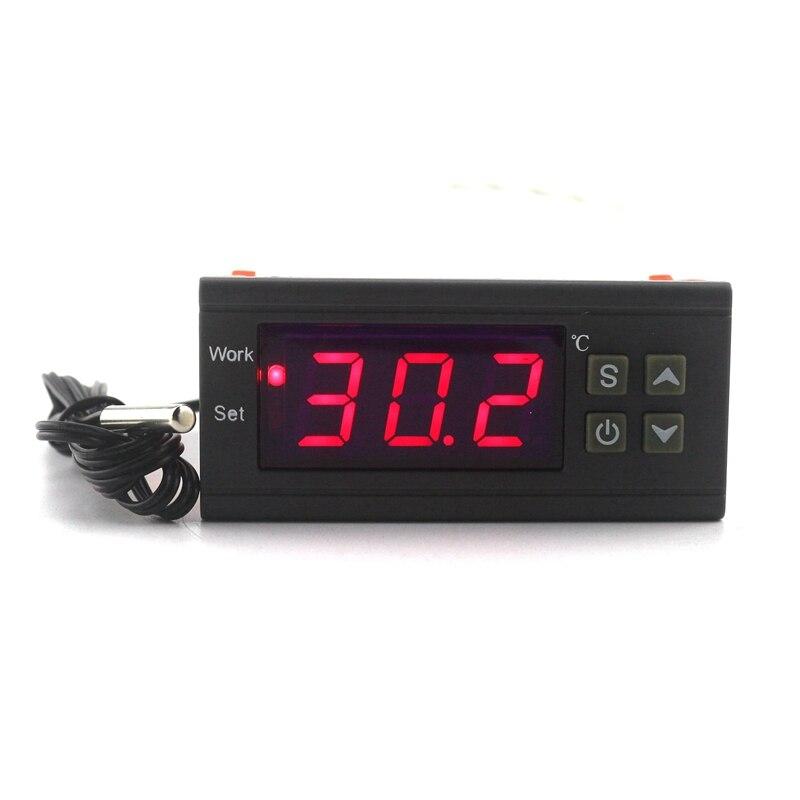 Intelligente Thermostat Eingang AC90-250V 12 v 10A 220 v Temperatur Regler Controller NTC Sensor für Kessel Dampfer Ausrüstungen