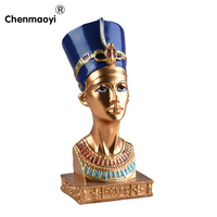 New Year 1ps Classical Egypt Decor Car Feng Shui Decoration Home Decoration Resin Craft Gentleman Gift