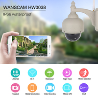 Wanscam HW0038 1 0MP WiFi IP Camera 720P Motion Detection Waterproof