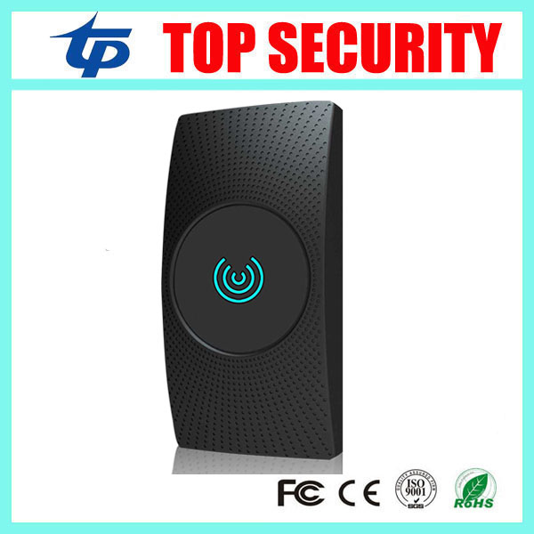 New arrival K600M MF card reader 13.56mhz IC card reader weigand34 for access control system IP64 waterproof outdoor mf 13 56mhz weigand 26 door access control rfid card reader with two led lights