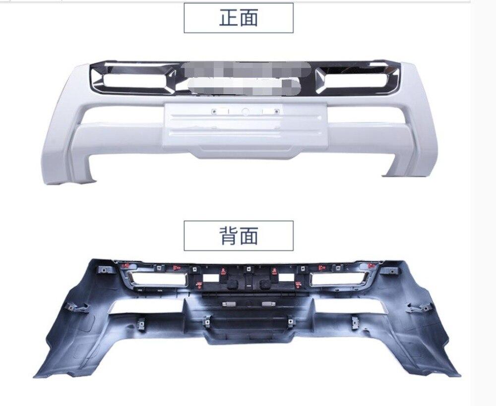 Plaque de protection pour diffuseur de pare-chocs avant compatible avec TOYOTA LAND CRUISER PRADO FJ-150 FJ150 2018 2019 accessoires de voiture