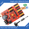 HD-W63 USB+Wifi P10 LED display module control card, Single&Dual Color led display control system