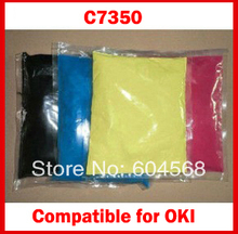 High Quality Compatible for  OKI C7350/7350 Chemical Color Toner Powder Free Shipping