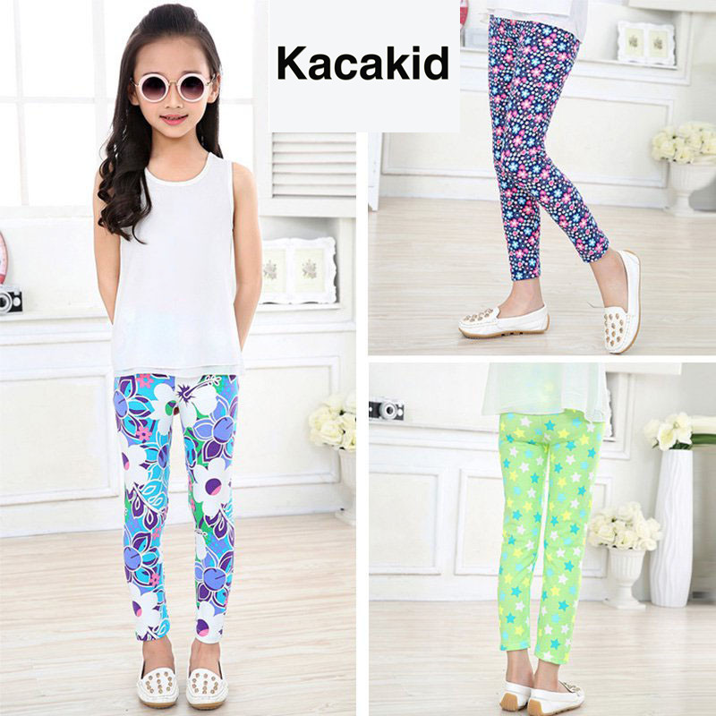 Балалар шалбар Киім Киім Киім 2019 Сән Сән Toddler Baby Girl Skinny Қарындаш шалбар Балалар Балалар Балалар 2-14Y