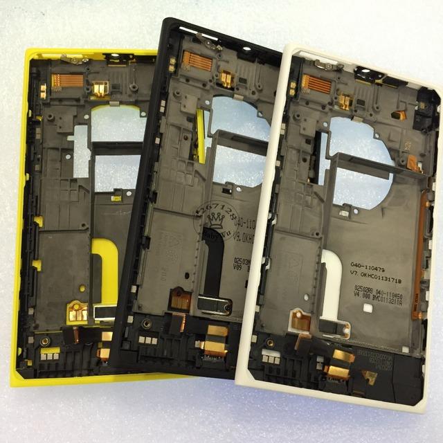 Marca nuevo teléfono móvil carcasa trasera puerta de la batería de vivienda cubierta de la bandeja de tarjeta sim para nokia lumia 1020 casewith
