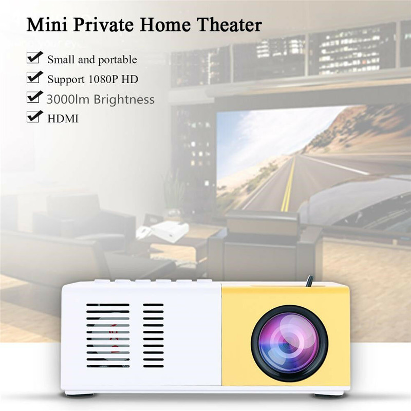 Cinema studio, Neat Projector Portable Pocket Mini LED Projector