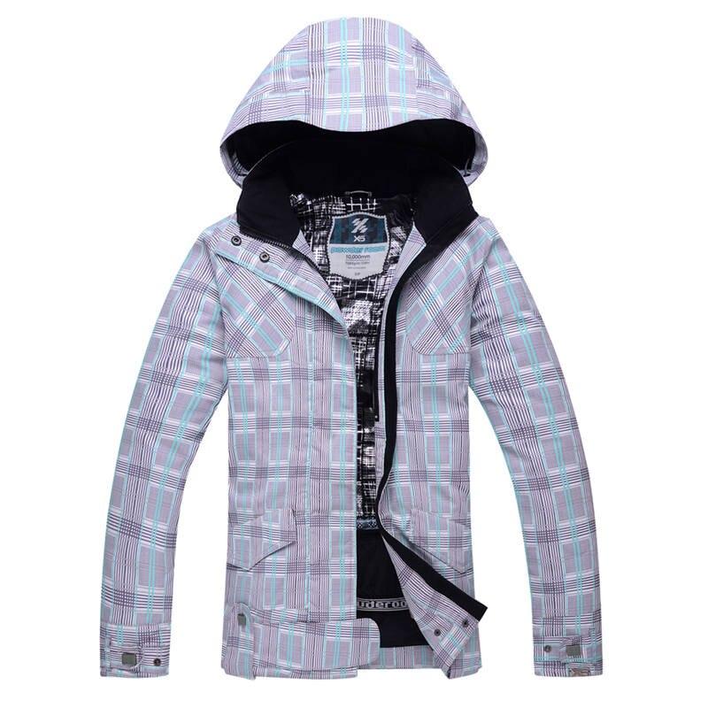 где купить Cheap girl snow jacket women Snowboarding clothing Outdoor sports Costumes Waterproof Warm female snow coats ski jacket по лучшей цене