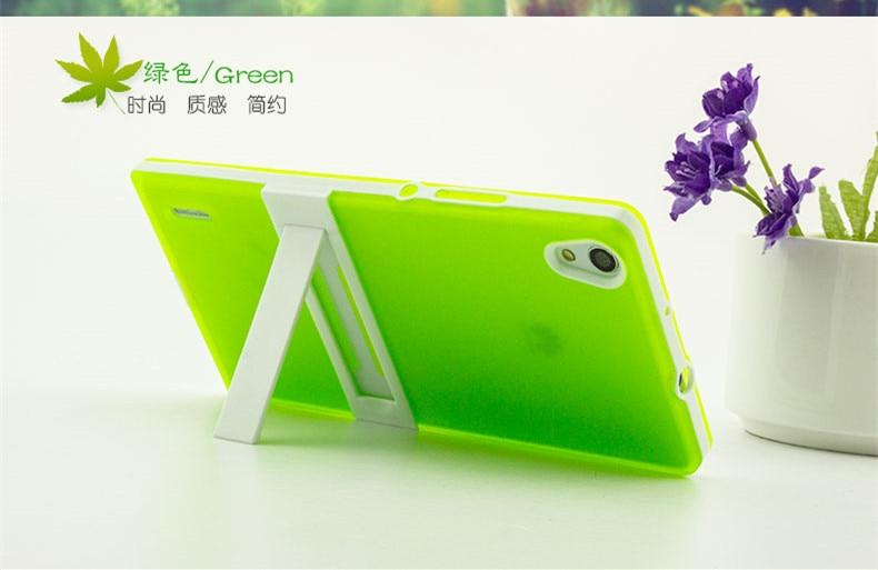 Marco de PC ultrafino Huawei P7 Funda blanda Funda de silicona TPU - Accesorios y repuestos para celulares - foto 4