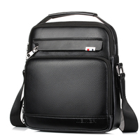 Brand Business Briefcase Shoulder Bag For Men Casual Messenger Bag Leather Handbag High Quality Crossbody Bags