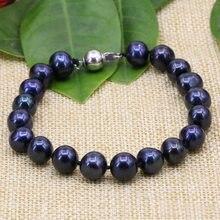 Женский винтажный браслет с бусинами из пресноводного жемчуга