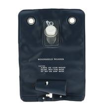 Bolsa Universal para lavar parabrisas de coche, Kit de bomba con interruptor de botón de chorro para coches clásicos, 12V