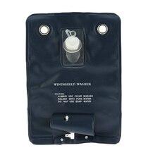Estilo do carro 12 v universal pára brisa lavadora bomba saco kit com botão de jato interruptor para carros clássicos