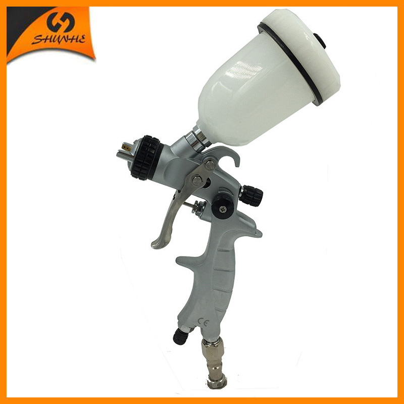 цена на SAT1216 paint spray gun hvlp pneumatic paint gun spray guns for auto painting high pressure professional paint sprayer