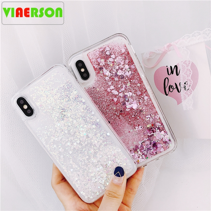 Liquid Water Soft Silicone Case For <font><b>Samsung</b></font> S10 5G S9 S8 Plus S10e S7 S6 Edge Note 5 8 <font><b>9</b></font> A10 A20 A30 A40 A50 A60 A70 M10 M20 M30 image