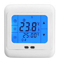 24V/30V/110V/220V Weekly programmable Digital Temperature Regulator Gas Boiler Heating thermostat w backlight LCD Touch Screen