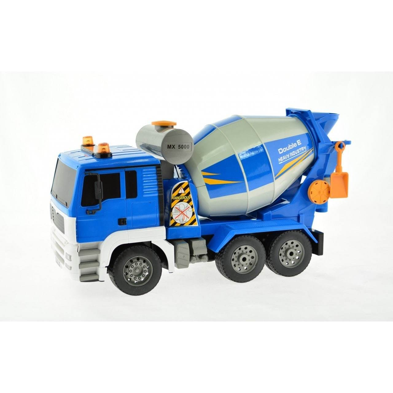 1:20 Scale RC Cement Mixer Truck with Lights and Sound Construction Engineering Vehicle Model Electronic Hobby Toys