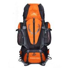 цена на Large 85L Big Capacity Rucksacks Outdoor Backpack Travel Multi-purpose Climbing Backpacks Hiking Camping Waterproof Sports Bags