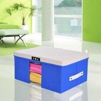 45 35 25CM Covered With Visual Sweater Organizer Storage Box Nonwovens Feature Book Storage Box Eco