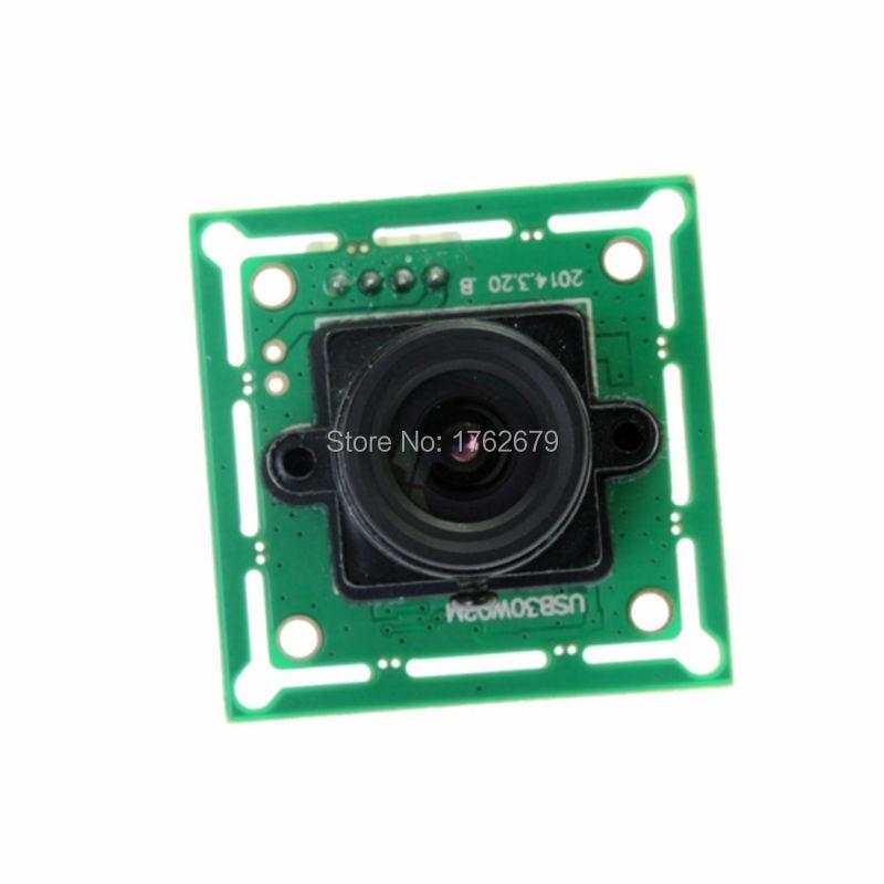 2.8mm USB Camera module for Linux Windows MAC System 1/4'' Color CMOS sensor Webcam Cam MJPEG ELP-USB30W02M-L28 elp 5mp 60 degree autofocus usb camera with ov5640 cmos sensor for linux android mac windows pc webcam machine vision camera