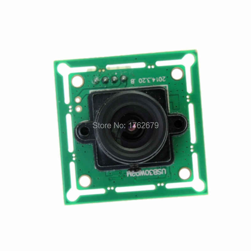 2 8mm USB Camera module for Linux Windows MAC System 1/4'' Color CMOS  sensor Webcam Cam MJPEG ELP-USB30W02M-L28